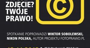Twoje Zdjęcie? Twoje Prawo! O prawie autorskim dla fotografów.