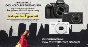 Jest już plakat drugiej edycji Fotomaratonu, pojawiły się informacje w mediach i ruszyły zapisy. Zapraszamy!