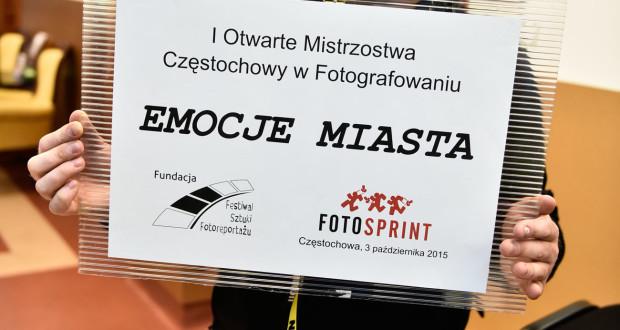 """""""I Otwarte Mistrzostwa Częstochowy w Fotografowaniu. Fotosprint 2015"""" – wystartowały !"""