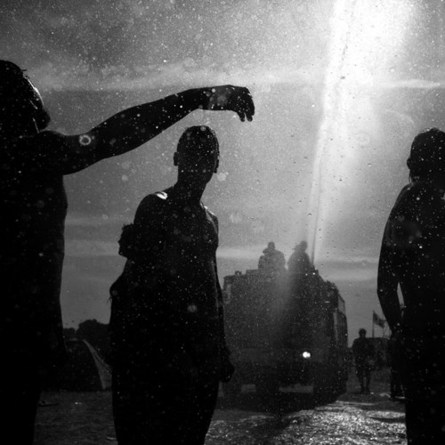 01.08.2009 Kostrzyn nad OdraXV jubileuszowy Przystanek Woodstock czyli trzy dni koncertow rockowych organizowanych przez Wielka Orkiestre Swiatecznej Pomocy.Fot. Wojciech Grzedzinski