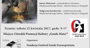 Mistrzowskie Warsztaty Martwa Natura w Fotografii już niebawem !