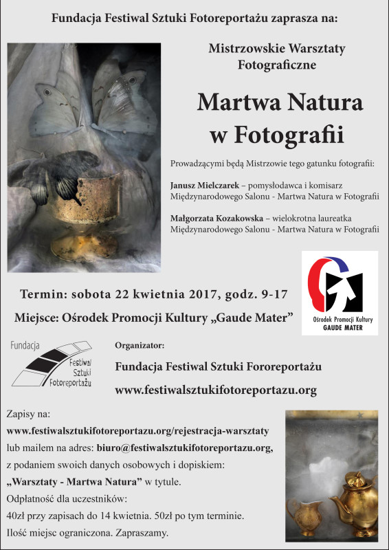 warsztaty Martwa NAtura