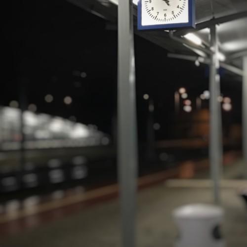"""Patryk Karoń """"Zegar na peronie"""""""