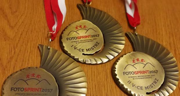 """Nagrody dla Zwycięzców """"Otwartych Mistrzostw Jury w Fotografowaniu. Fotosprint 2017"""" !"""