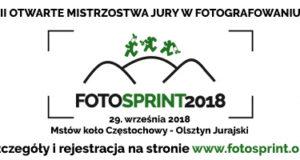 Ważne informacje przed startem Fotosprint 2018!
